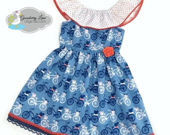 Ready to Ship Size 18/24M/2 Summer Adventures Dress
