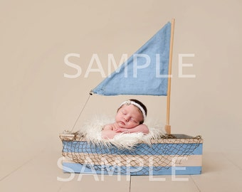 Digital newborn boat prop