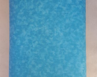 "Aqua Blender 108"" wide back 100% cotton fabric"