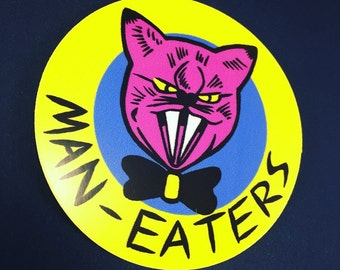 Maneaters Sticker