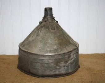 Metal Funnel Oil Funnel - Farm Funnel - item #2515