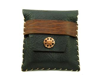 Heirloom Leather Card Case in Midnight Espresso