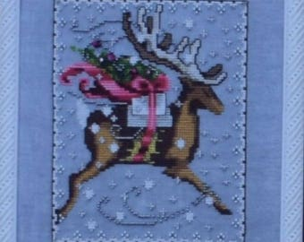 Comet - by Nora Corbett - Christmas Eve Couriers – Mirabilia Designs Chart NC120