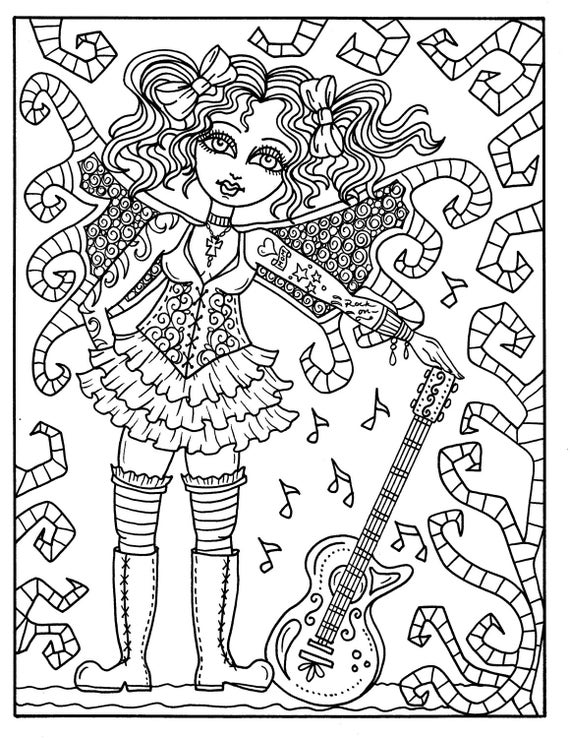 Steampunk Fairyland Coloring Book Adult Pages Fantasy Art Fairies Dragons Elephants And More
