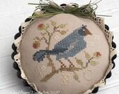 Primitive Bluebird Tart Tin