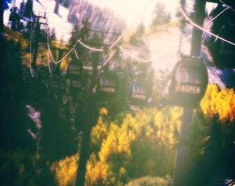 Aspen Colorado Gondola Season Change