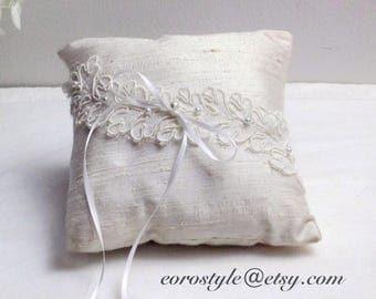 Rustic ring bearer pillow, Ring Bearer Pillows, Ring Pillow, Wedding Ring Pillow, Ring Bearer, Flower Ring Pillow Rustic Wedding ring pillow