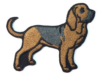 Iron on Patch Bloodhound No Name