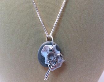Rock Paper Scissors Necklace