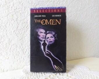 Vintage VHS Supernatural, horror Movie, THE OMEN. 1976. Sealed.
