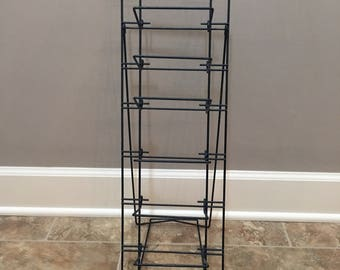 Vintage Folding Country Store Paper Sack Rack