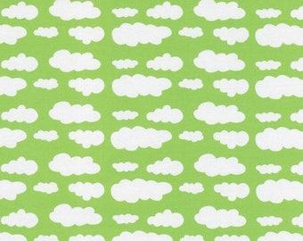 Cloud jersey, clouds, bright jersey, Light green cloud jersey, light green cloud knit