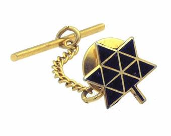 Vintage Gold Tone Tie Tac/Lapel Pin  #752