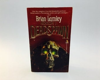 Vintage Horror Book Necroscope V: Deadspawn by Brian Lumley 1991 First Edition Paperback