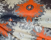 CLEARANCE Indelible Collection, Time is Deer Ember, Designed Cotton Fabric, Quilting Weight prints, Fat Quarter or Half Yards