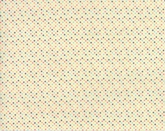 Essentially Yours by Moda - Multi with Black on White Mini Dot (8655-87) - Moda - 1 Yard