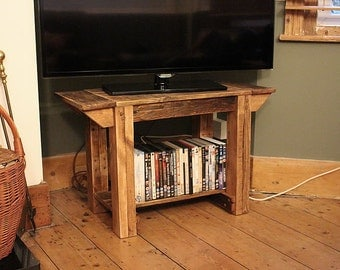 TV Stand Alcove Bench Coffee Table Made With Pallet Wood