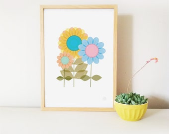 BLOOM  Art Print with Free Aus Shipping!