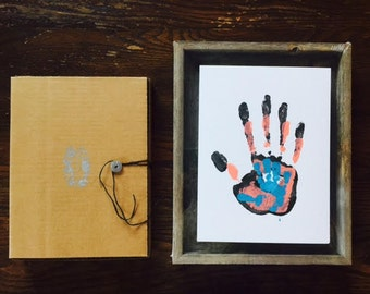 DIY Art Kit - Personalized Family Artwork - Unique Gender Neutral Baby Shower Gift -  Unique Christmas - Growing Family Art - Reunion Art