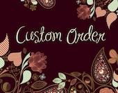 custom listing for Alison Nudd