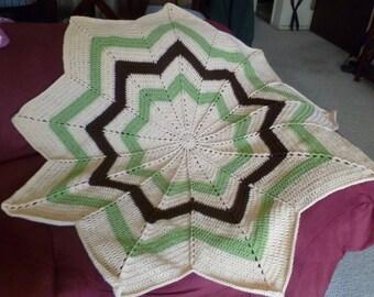 9 Star Blanket / Afghan