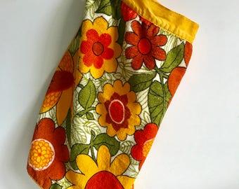 Vintage Terry Cloth Apron