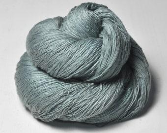 Rain in a graveyard -  Merino/Cashmere Fine Lace Yarn