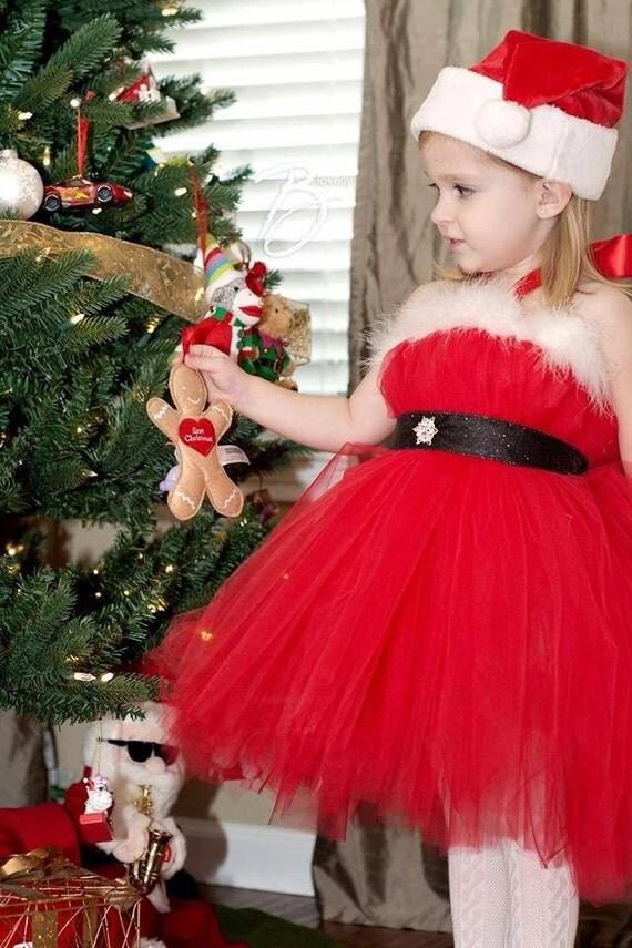 Atutudes Santa Baby Tutu Dress