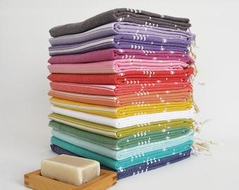 SALE 50 OFF/ Select a Color / Turkish Beach Bath Towel / Classic Towels