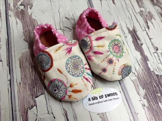Dream Catchers Soft Sole Shoes Size 12-18m