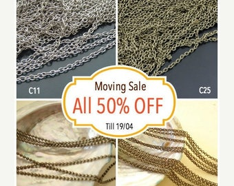 Moving 50off Sale - Collection Wholesale Buys Chain C-363