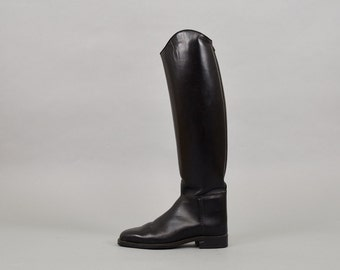 ARIAT Black Leather Riding Boots (US 7)