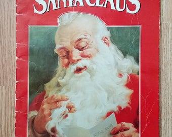 Vintage 1984 Jolly Old Santa Claus - Ideals Book