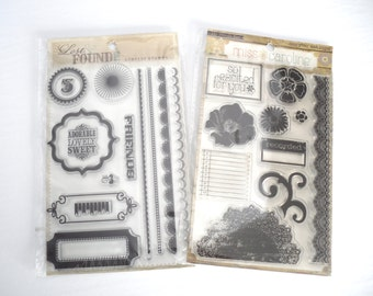 My Mind's Eye Stamp Sets (Set of 2)