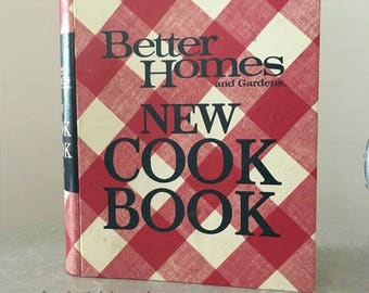 Vintage Better Homes and Gardens New Cook Book 1968