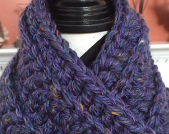 3 Button Cowl Scarf