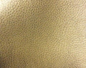 Faux Leather, Fabric, Upholstery, Vinyl, Cream Crinkle