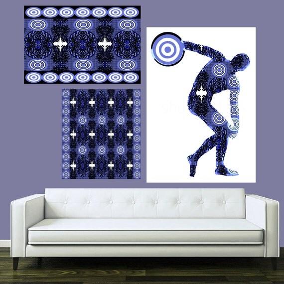 The Discobolus of Myron, Greek Disc Thrower Man, Men Sports Painting, Guy Sports Art, Masculine Sports Art, Hercules Painting, Strong Man