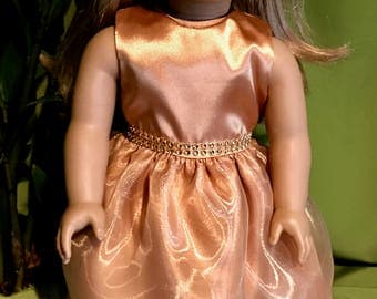 American Girl Doll or 18 Inch Doll Formal Gown