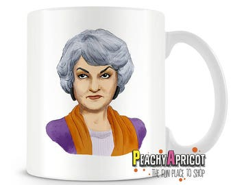 Bea Arthur Mug - Fill the Void - Hot Like Bea Coffee Mug