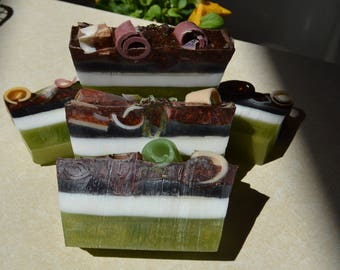 Soap~ All Natural Soap~ Organic Soap~ Handmade Soap~ Vegan Soap Earthy Stonehenge Amber Soap