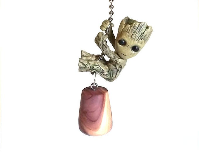 Baby Groot Ceiling Fan Pull, Guardians of the Galaxy Vol 2, Nursery Decor, Kids Room Decor, Gift for Kids, Gift for Her, Gift for Girls