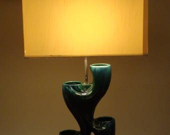 Vintage 1970's Italian Ceramic Lamp - Mint