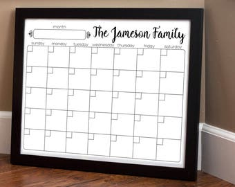 Print Your Own - Family Calendar - Style 1.7