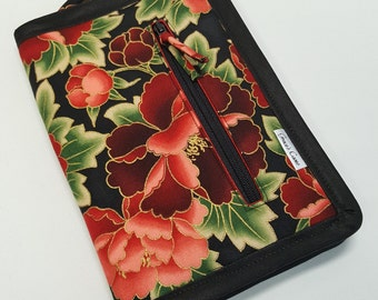 NEW!! ETC case in Red and Black Floral
