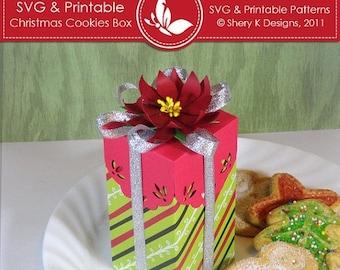40% off SVG & Printable Christmas Cookies Box