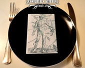 3x Scented and Edible Vintage Anatomical Greeting Cards