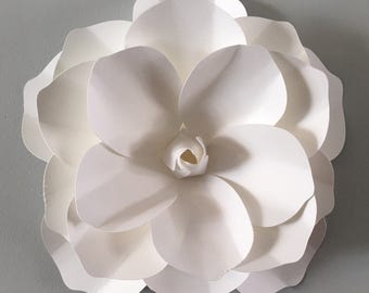 Extra large 3D Wall Magnolia flower  - White Magnilia flower  decal, wall decoration, wall flower decor