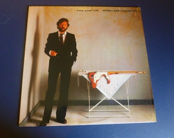 Eric Clapton Money And Cigarettes Vinyl Record 23773-1 Duck Records 1983