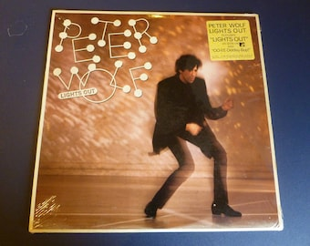 Peter Wolf Lights Out Vinyl Record LP SJ-17121 EMI America Records 1984